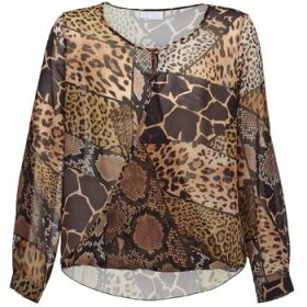 Alba Moda  ANINA  women's Blouse in Brown