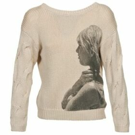Brigitte Bardot  ARLETTE  women's Sweater in Beige