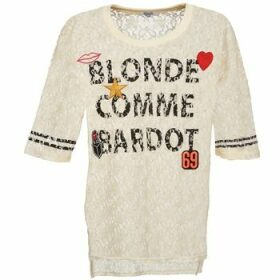 Brigitte Bardot  AMBROISE  women's Blouse in Beige