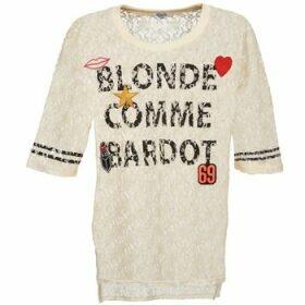 Brigitte Bardot  AMBROISE  women's Blouse in Beige