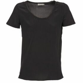 Calvin Klein Jeans  WAGMAR SILK  women's T shirt in Black