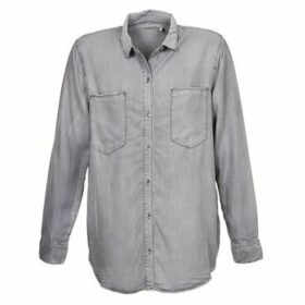 Calvin Klein Jeans  DYLAN SHIRT DOG  women's Shirt in Grey