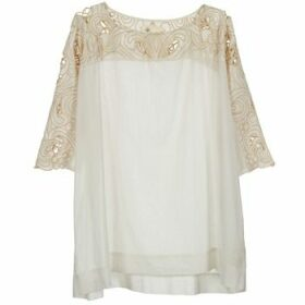 Stella Forest  ATU030  women's Blouse in Beige