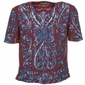 Antik Batik  NIAOULI  women's Blouse in Red