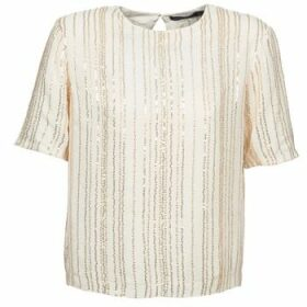 Antik Batik  ROMINA  women's Blouse in White