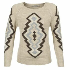 Cream  CARME  women's Sweater in Beige