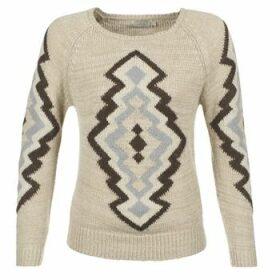Cream  CARME  women's Sweater in Beige