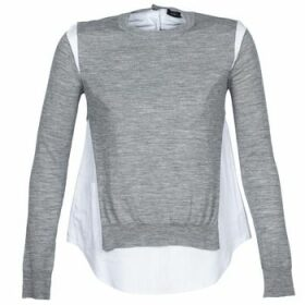Joseph  RD NK SS  women's Sweater in Grey
