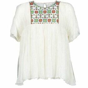 Manoush  POINT DE CROIX  women's Blouse in White