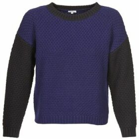 Manoush  POINT DE RIZ  women's Sweater in Blue