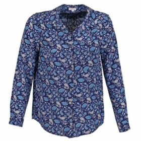 Manoush  BANDANA SILK  women's Shirt in Blue