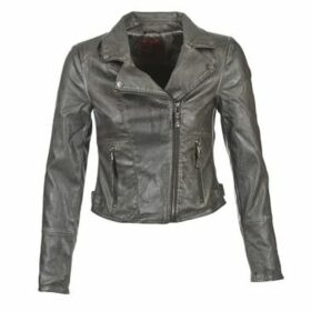 S.Oliver  JOLE  women's Leather jacket in Grey