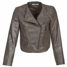 See U Soon  CANDICE  women's Jacket in Brown