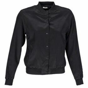 Manoush  TEDDY FLEUR SIATIQUE  women's Jacket in Black
