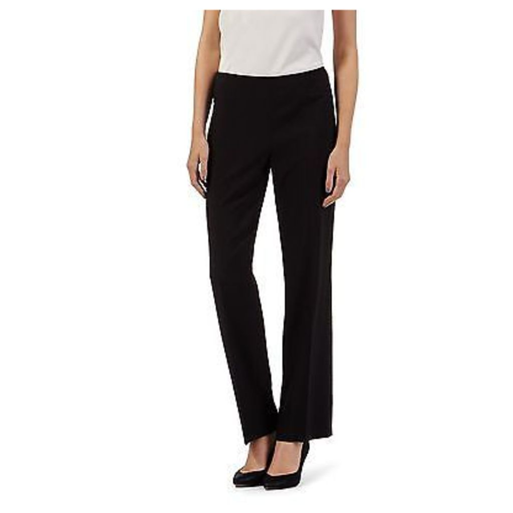 The Collection Womens Black Straight Leg Smart Trousers From Debenhams