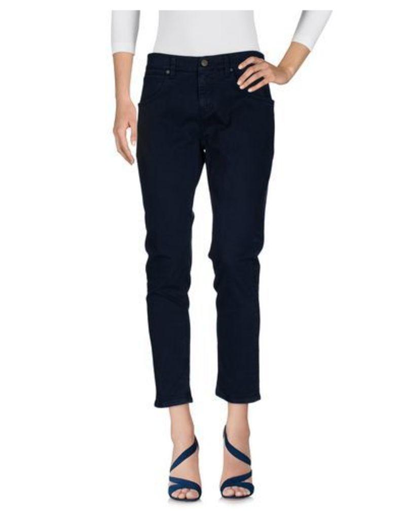 2W2M DENIM Denim trousers Women on YOOX.COM