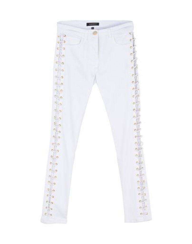 ALMAGORES DENIM Denim trousers Women on YOOX.COM