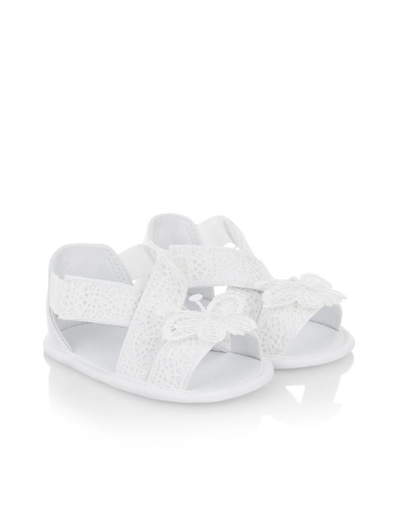 Baby Butterfly Lace Bootie Sandal