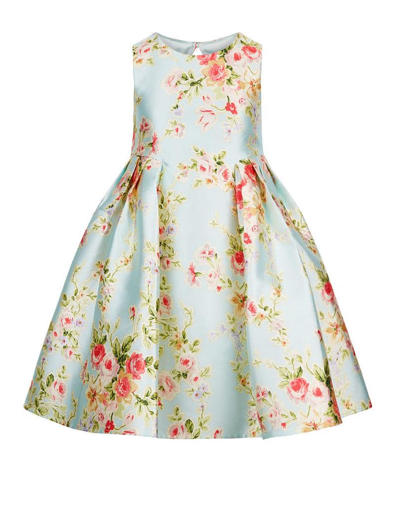 Halo Bloom Print Dress