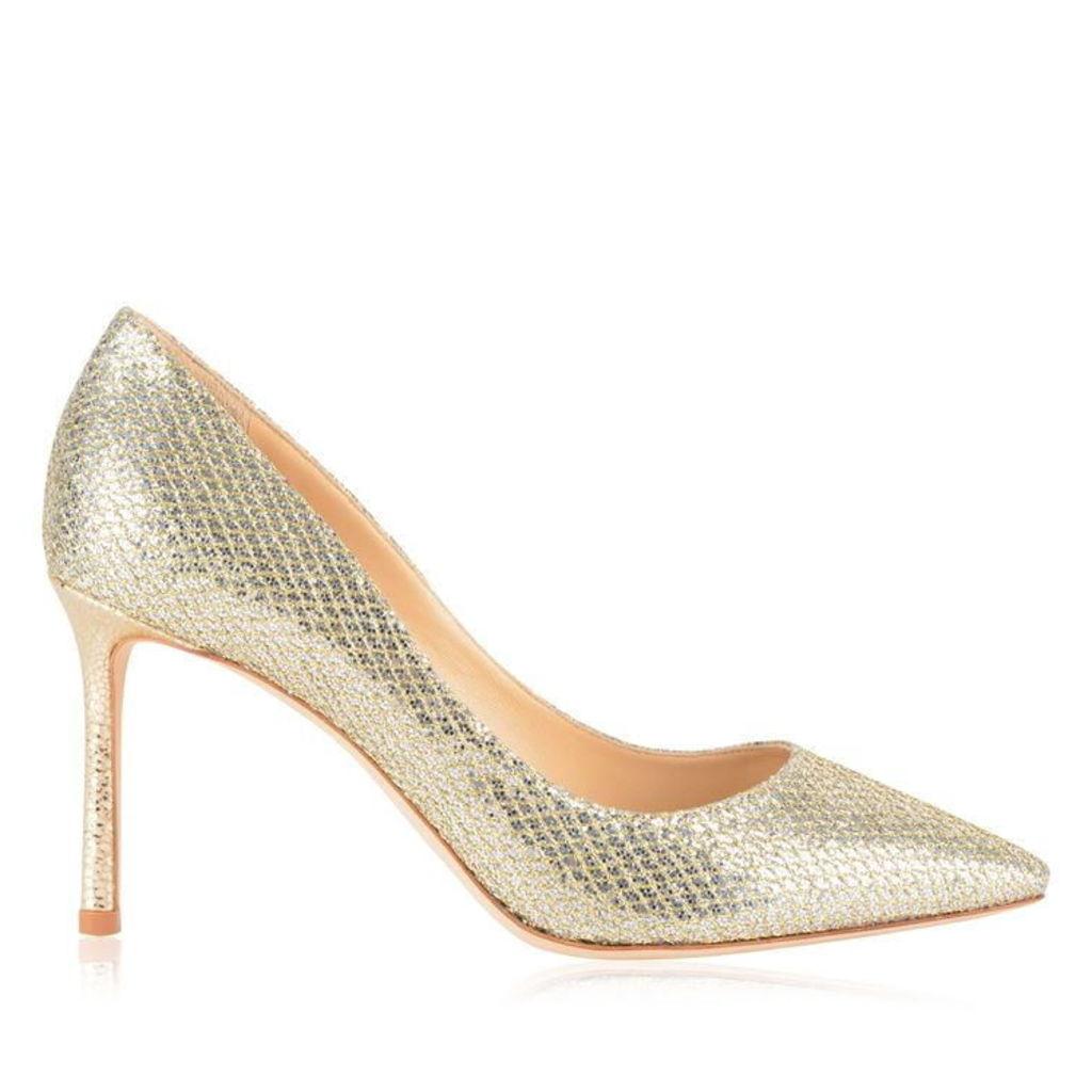 JIMMY CHOO Glitter Romy 85 Heels
