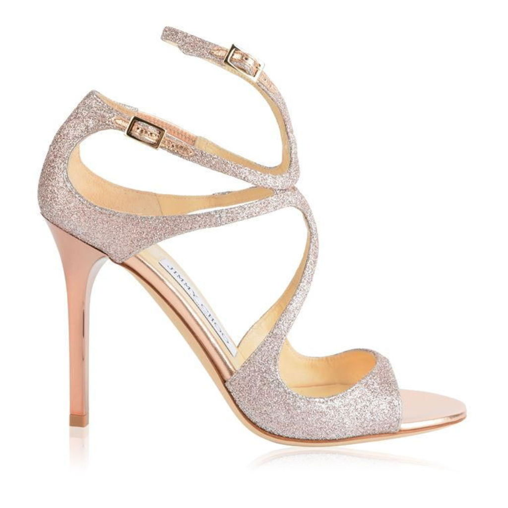 JIMMY CHOO Lang Glitter Heels