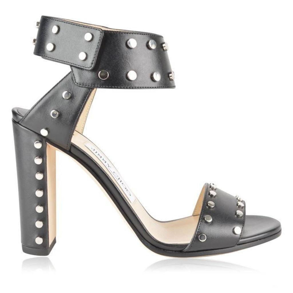 JIMMY CHOO Veto 100 Studded Sandals