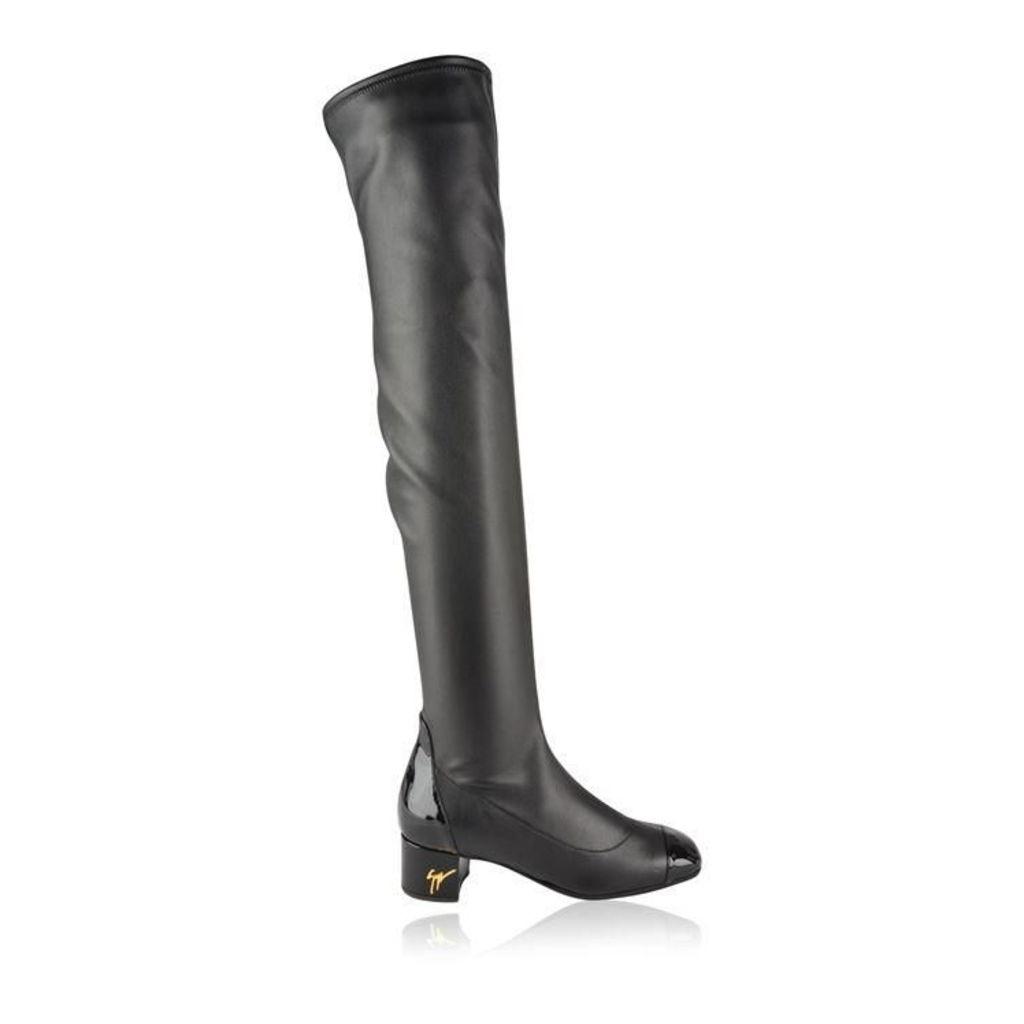 GIUSEPPE ZANOTTI Quad Knee High Boots