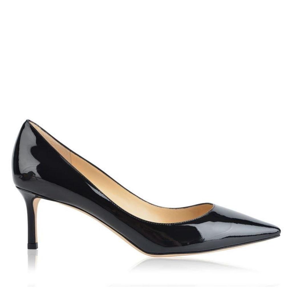 JIMMY CHOO Patent Romy 60 Heels