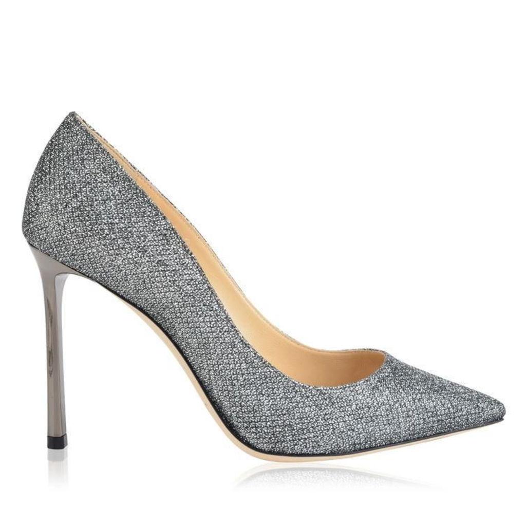 JIMMY CHOO Glitter Romy 100 Heels