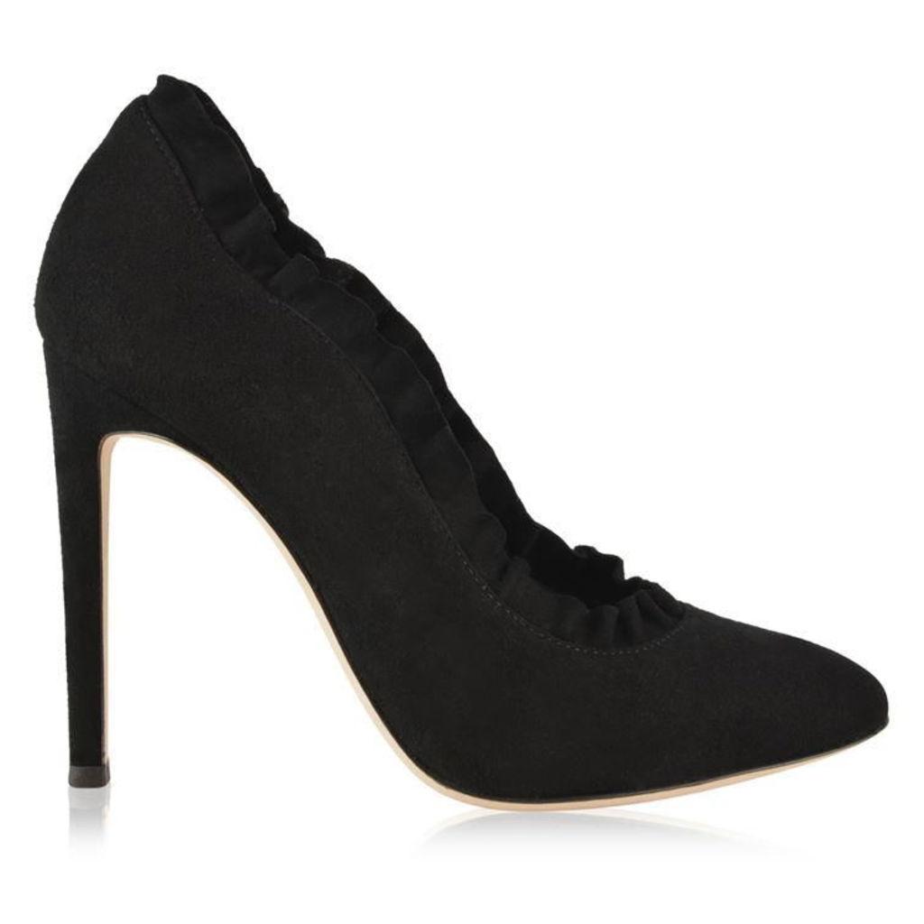 GIUSEPPE ZANOTTI Marjorie Ruffled Heels
