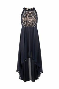 Halterneck Lace Dress