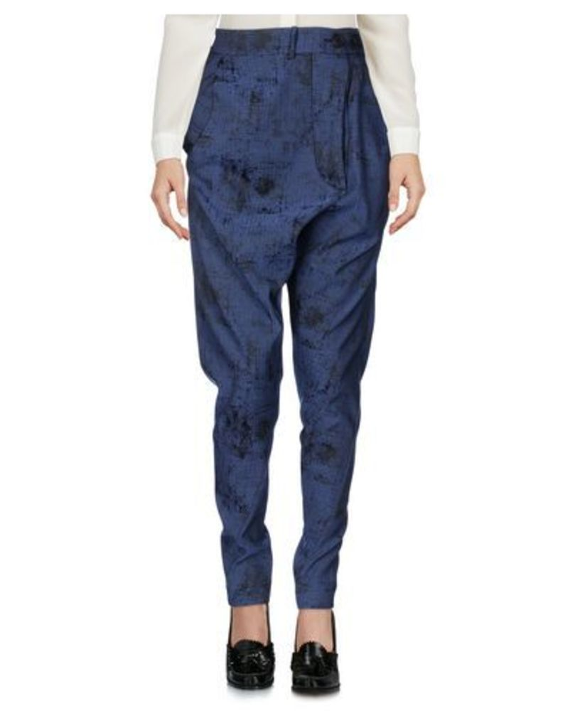 VIVIENNE WESTWOOD ANGLOMANIA TROUSERS Casual trousers Women on YOOX.COM