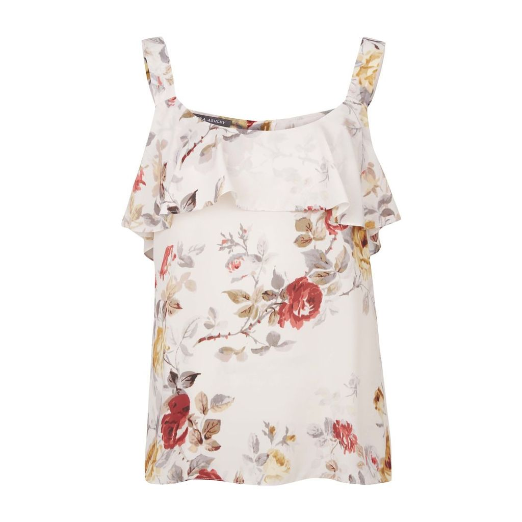 Sleeveless Floral Print Camisole Top