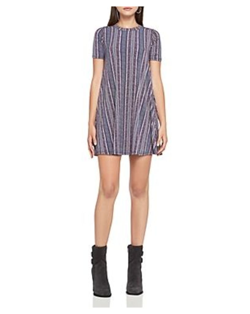 BCBGeneration Striped Jersey A-Line Dress