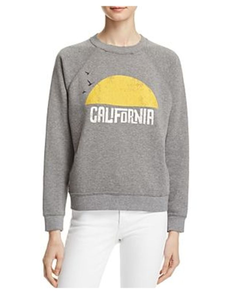 Rebecca Minkoff California Sunset Printed Sweatshirt