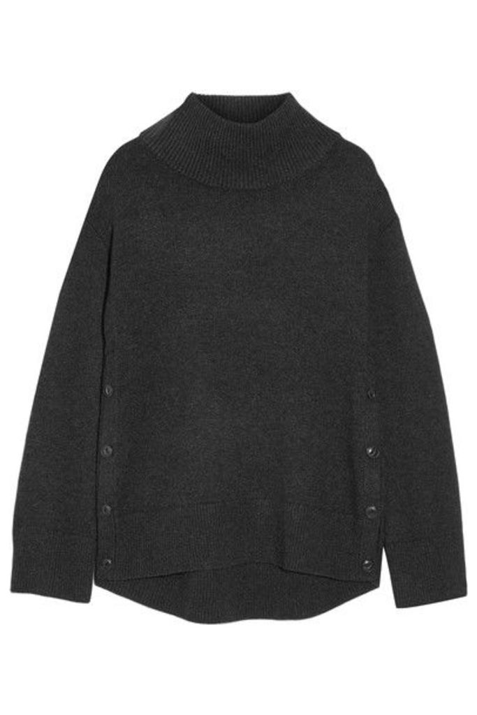 rag & bone - Phyllis Wool And Cashmere-blend Turtleneck Sweater - Charcoal