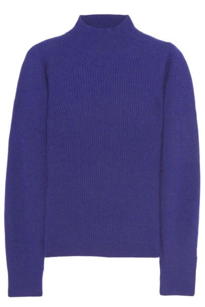 Mugler - Ribbed Cashmere Sweater - Royal blue