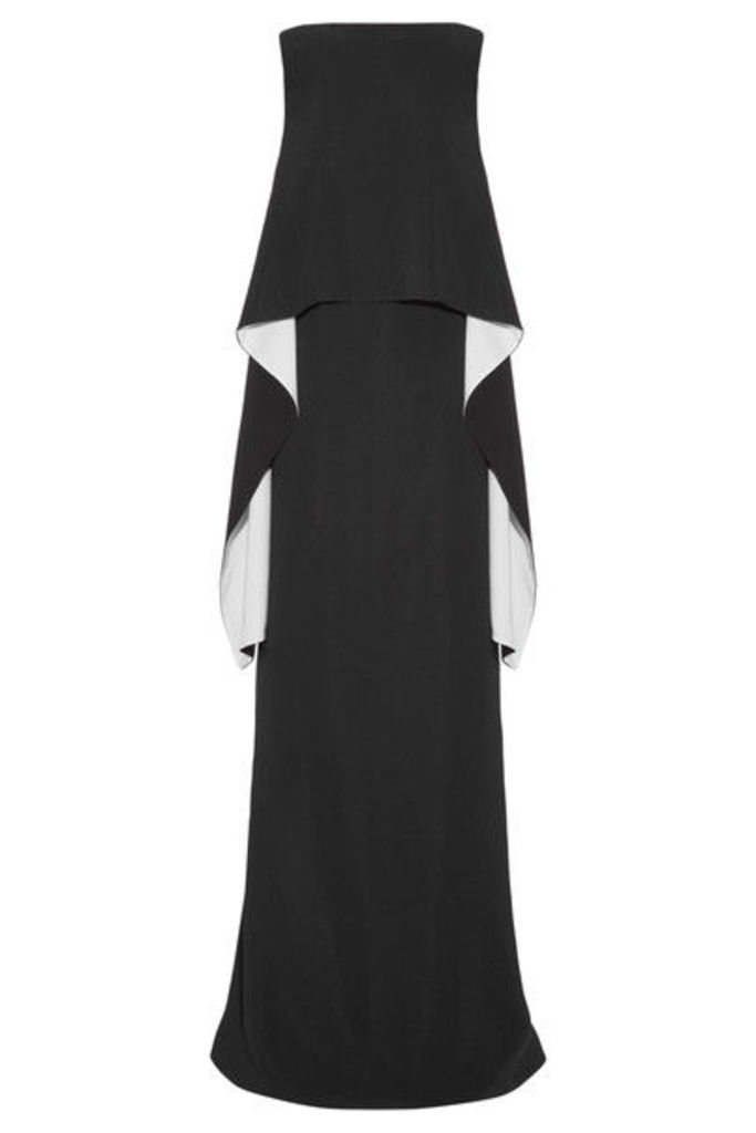 Givenchy - Draped Stretch-crepe Gown - Black