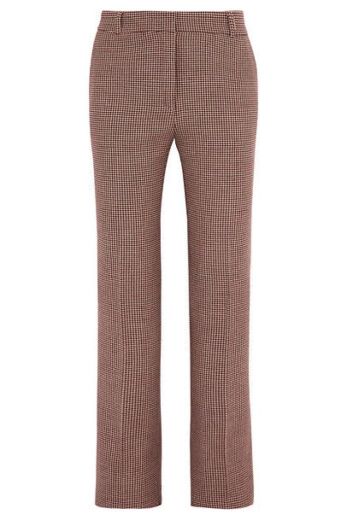 Paul & Joe - Houndstooth Tweed Slim-leg Pants - Brown