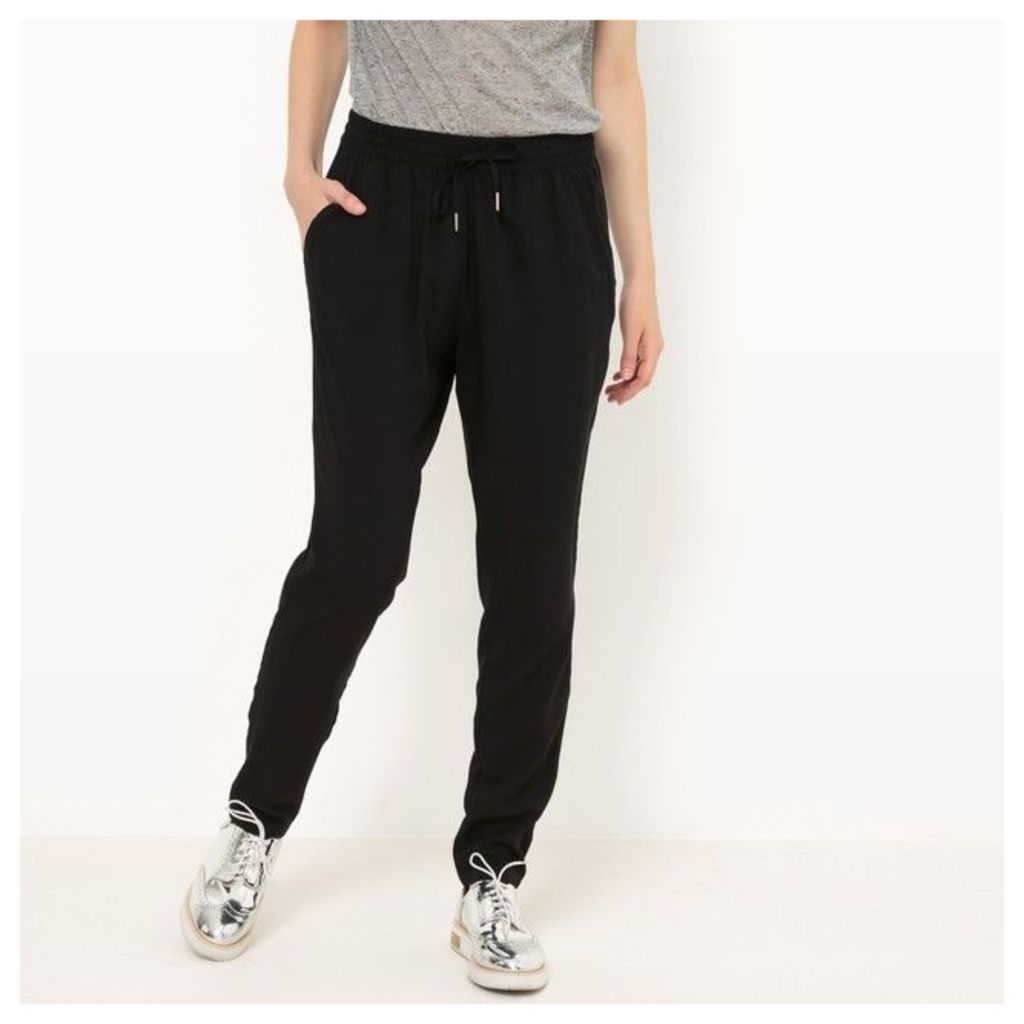 Plain Softly Draping Trousers