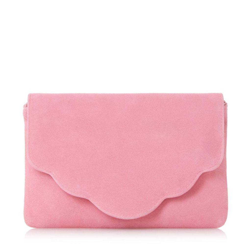 Bcurve Scallop Edge Clutch Bag