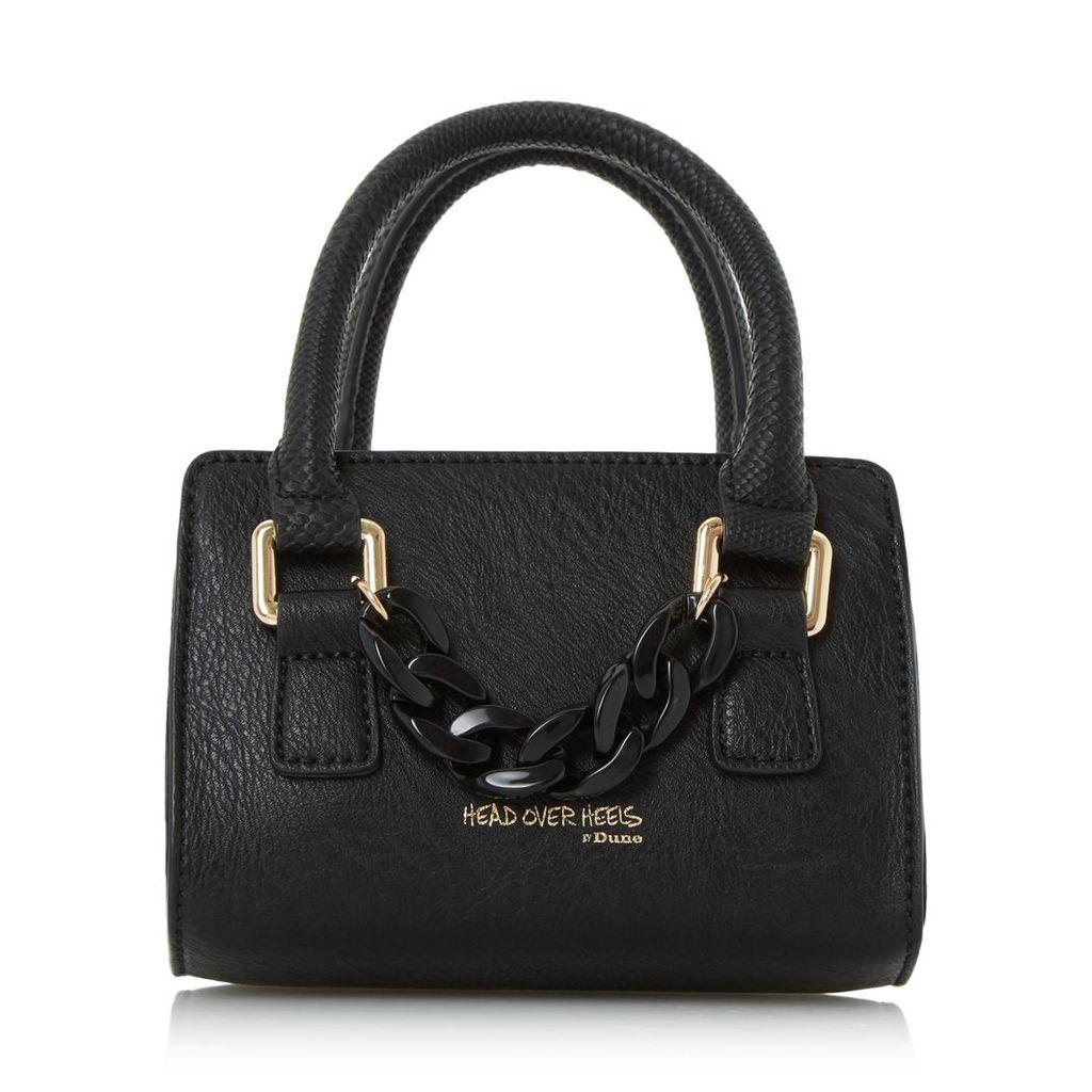 Hennerson Chain Detail Top Handle Micro Bag
