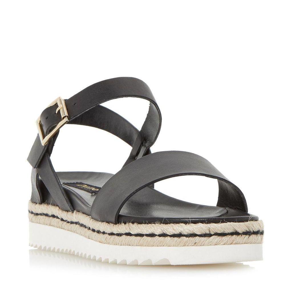 Liss Shark Sole Espadrille Flatform Sandal