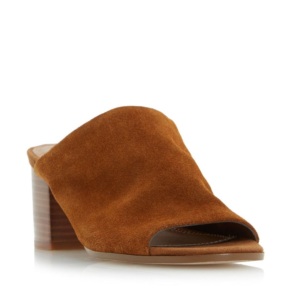 Jupita Unlined Block Heel Mule Sandal