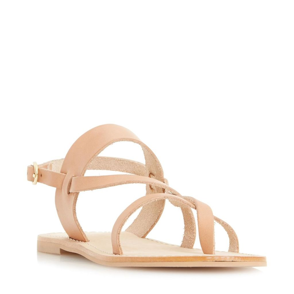 Luccia Multi Strap Flat Sandal