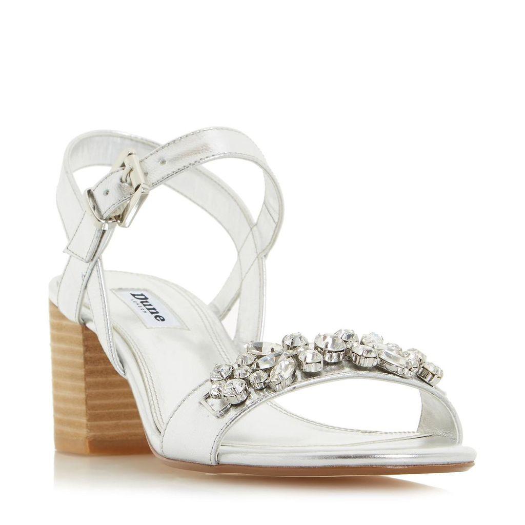 Joone Block Heel Jewelled Sandal
