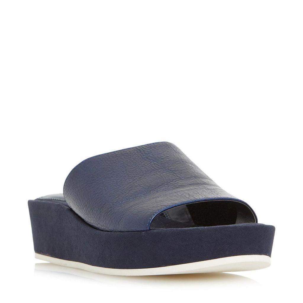 Kallie Flatform Mule Slider Sandal
