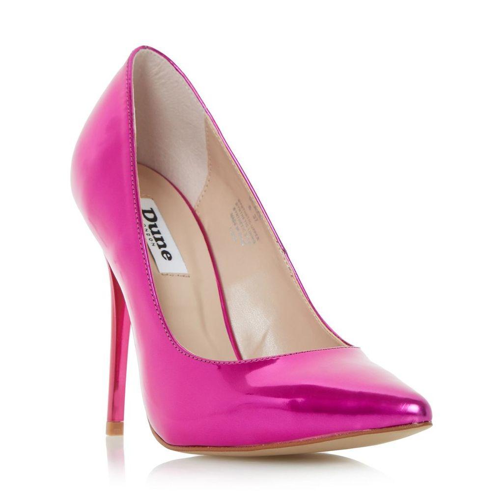 Blaze Metallic Pointed Toe Court Shoe