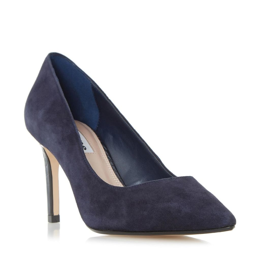 Abbigail Pointed Toe Mid Heel Court Shoe