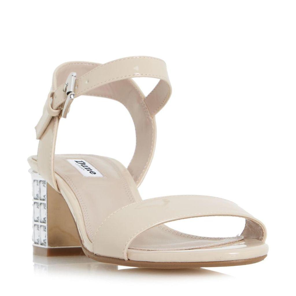 Harah Jewelled Block Heel Sandal